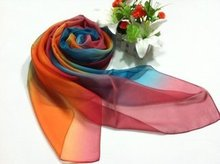 2015 Fashion Spring Silk Scarf / Polyester Magnetic Scarves for Ladies