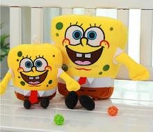 NBCU audit stuffed soft sponge bob kids toy plush musical cartoon toy