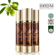 New arrivals wholesale 100% pure organic cosmetic natural sheen argan oil for hair