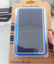 2015 Wholesale portable power bank 12000mah,factory price OEM/ODM service Solar power bank