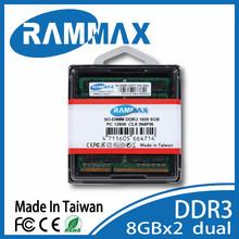 RAMMAX TAIWAN 1600mhz DDR3 8GB ram laptop memory MT brand