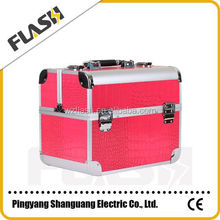 Cheap Square Pattern Makeup Vanity Train Case for Wholesale