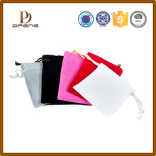 Velvet design custom various type cute mini bag for jewelry /travel jewelry bag