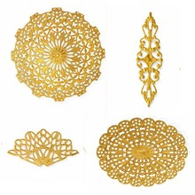 Low price filigree jewelry findings for jewelry making