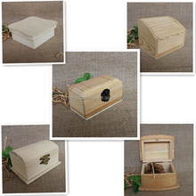 Handmade unfinished custom essential oil packaing wood boxes