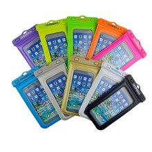 Fashional Pvc Waterproof Cell Phone Bags For Smartphone