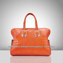 4402- crocodilo imitação bolsas de couro, bolsas estilo