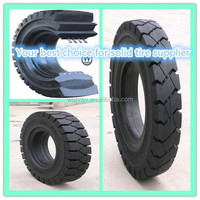 Top seller new forklift solid industrial tires 7.00-12 6.00-9 6.00-15 7.00-15 7.50-16, 6.50-10 forklift wheels and rims on sale