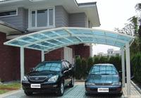 Galvanized Steel Roof Truss for Double Car Canopy