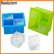 molde de hielo del silicón para la bandeja de cubitos de whisky / lego hielo / fabricante de la bola de hielo
