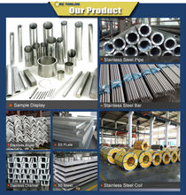 China Most powerful stainless steel coil/sheet/ pipe/bar/flat/channel