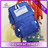 Classic blue color top quality camping backpack made in china