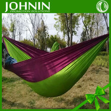 Hot selling custom outdoor swings hanging nylon hammock