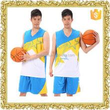 customized sublimation cheap man basketball wear soccer sports wear