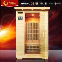 Canada hemlock 2 person sauna cabin Home far infrared sauna G2(new)