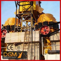 Supply used double roller crusher for break granite