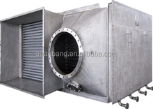 Finned tube air to air heat exchanger design