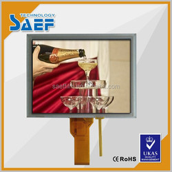 8 inch tft lcd module SVGA 800x600 dots with RGB interface and resistance touch LCM