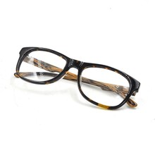Special Design Fake Wooden Temple Optical Glasses, Tortoise Frame