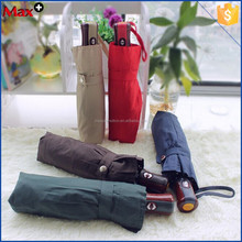New arrival 3 fold double auto open and close windproof umbrella