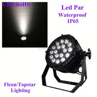 Hot Sell Waterproof 18*10W RGBW 4-IN-1 Quad LED PAR Stage Light,Double Yokes For DJ Club KTV Party New, Die-Cast Aluminum