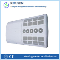 Model: AC28, Hot sale city bus rooftop air conditioner 12v from China supplier