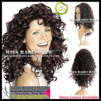 Crazy Hot Sale 2015 Factory Price Natural Black Dyeable Virgin Cambodian Kinky Curly Human Hair Wigs Kinki