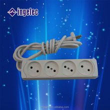 wholesale three phase socket plug with extension cord switched socket outlet