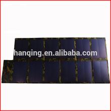 el panel solar amorfo con kit solar uni aa de grado de la célula solar