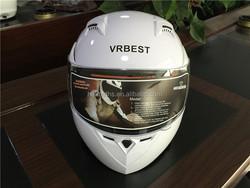 Motorcycle Flip-up Helmet with Double Visor