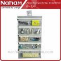 Naham Tela colgante de pared del bolso Joyería Organizador