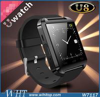 2015 New Product Sport Water Resistant Bluetooth Smart U8 Watch, Bluetooth Wrist Watch Phone