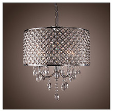 k9 glass crystal hanging lamps/chrome/silver color decoration fixtures