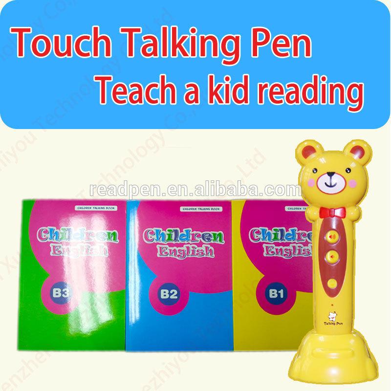 <XZY>enseñanza preescolar de <span class=keywords><strong>inglés</strong></span> y chino de los niños de la <span class=keywords><strong>pluma</strong></span> de lectura