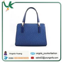 Genuine Leather Ostrich designer Hobo bag Totes European American fashion style Embossed Handbags New hot sale handbags