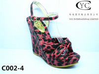 top one shoes wedge sole with CE certificate wedge heels cheap wedge sandals