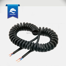 PU jacket multicore spiral cable