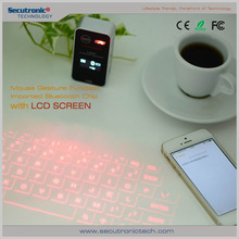 Newest model Bluetooth,USB Interface Type and Stock Products Status bluetooth virtual laser projection keyboard