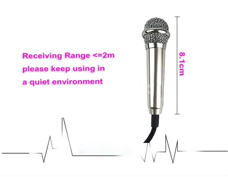 2016 New arrival Crazy popular around the world mini mobile sing microphone
