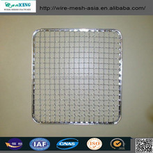 high material wholesale 304 Stainless steel wire barbecue grill net/stainless steel wire barbecue grill net