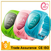 Portable wrist Watch GPS Tracker for kids tracking on mobile and web