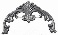 Daming The Most Fashionable Top Quality Wrought Iron Arts , Iron Craft Fencing HY-449S