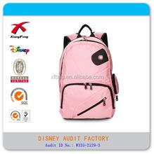 Wholesale factory price school travel girl bagpack, girl bags backpack