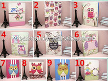 Cartoon Cute Parrot Bling Flip Stand Leather Case Cover For iPad Mini