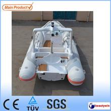 (CE) 19ft rib fiberglass fishing boat sailing yachts