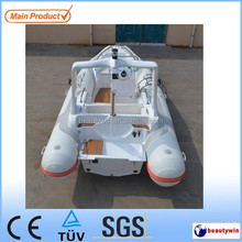 2015 CE Certificate 19ft rib fiberglass fishing boat sailing yachts