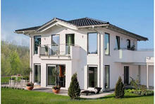 Two storey hot sale prefab house with sandwich wall panel