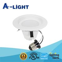 "aluminium SMD3030 LED downlight kit 4""9W ES/ cUL/ UL"