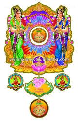 2014 Paper Glitter India Door/Wall Hangings Decorations