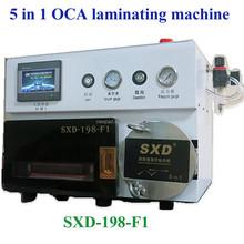 5 in 1 Vacuum OCA film laminating machine iphones lcd screen repair, lcd repair machine
